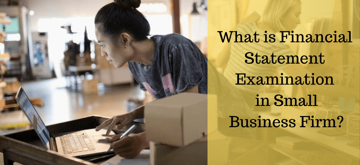 What is Financial Statement Examination in Small Business Firm?