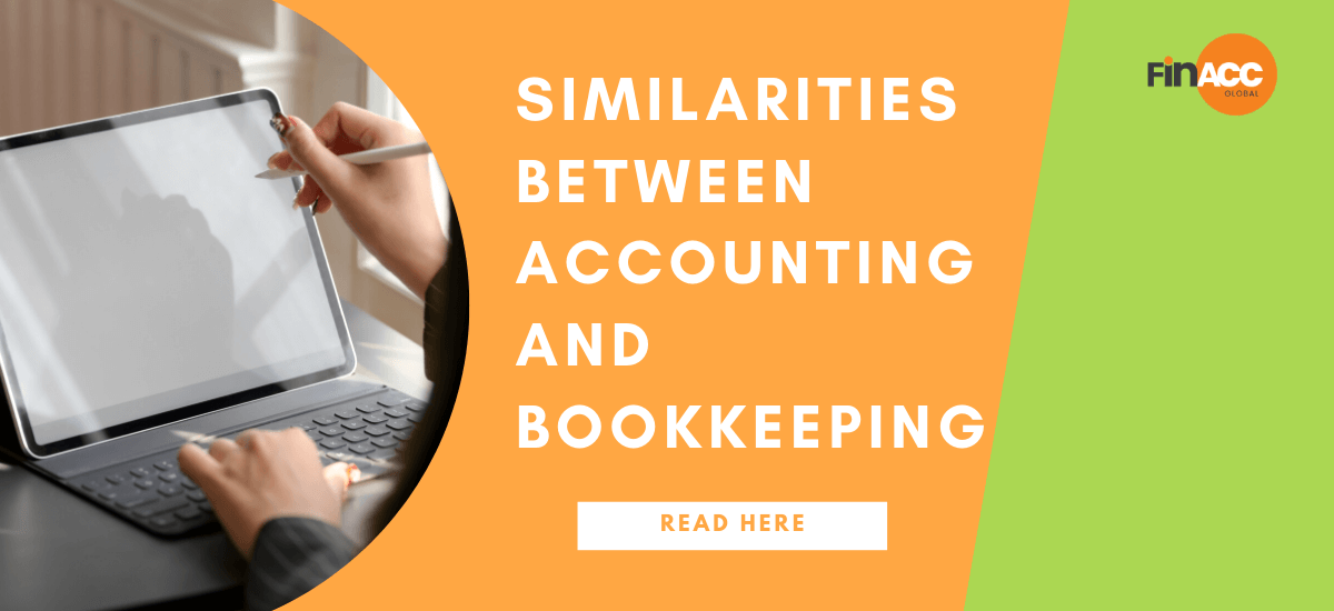 similarities between tasks performed by accounting and bookkeeping professionals
