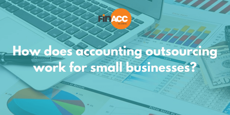 How does accounting outsourcing work for small businesses