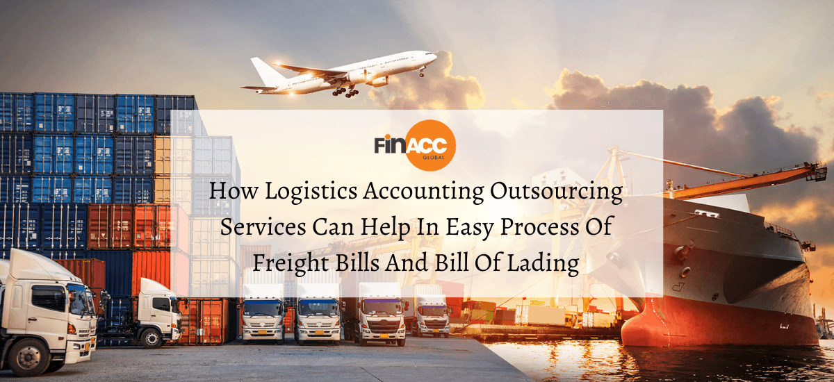 Accounting outsourcing services for logistics